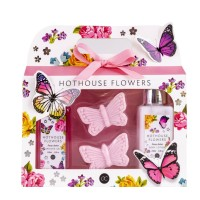 Set Cadou Hothouse flowers, cu parfum de bujor