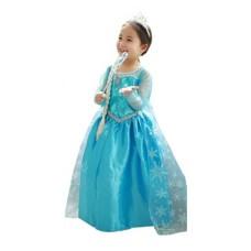 Rochie Elsa - Frozen cu paiete