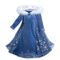 Rochie sezon iarna regina Elsa din filmul Frozen
