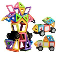 Set forme magnetice pentru construit
