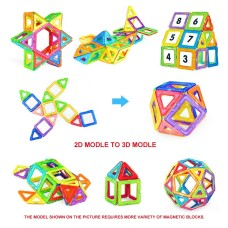 Joc de constructie magnetic 3D - 24 piese