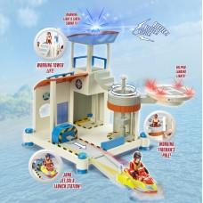 Set de joaca - Pompierul Sam salvarea de pe ocean