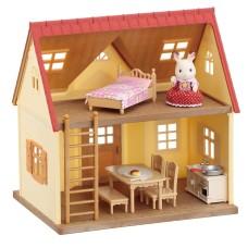 Sylvanian Families – Set de joaca - casuta comfortabila a micutilor