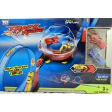 Circuit de curse hot race spinner cu masinute incluse