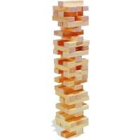 Turn Jenga din lemn natur