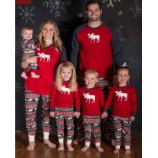 Pijama Craciun in familie, pentru bebe, copii, mama, tata