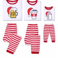 Pijama de Craciun, model Trickert, marimi pentru intreaga familie - halba de bere, cana de cafea si biberon