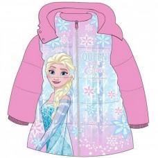 Geaca de iarna Elsa Frozen, multicolora