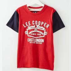 Tricou copii Lee Cooper, rosu
