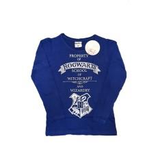 Tricou baieti, Hogwarts, Harry Potter, albastru, varsta 9 - 13 ani