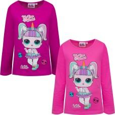 Bluza fete LOL SURPRISE roz bombon/fuchsia, varsta 3 - 8 ani