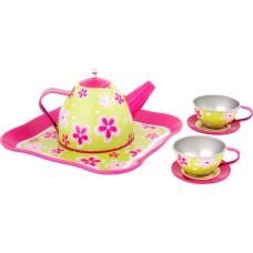 Set de ceai cu flori
