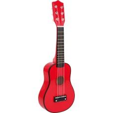 Chitara rosie pentru copii