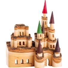 """Castel din lemn """"Culoare"""""""
