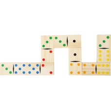 "Domino din lemn ""Giant"""