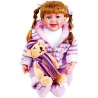 Papusa Jasmin cu ursulet